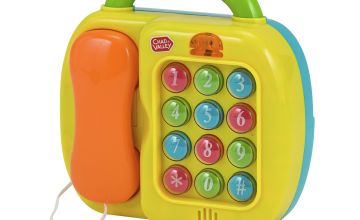 Chad Valley 2-in-1 Telephone and Piano Set