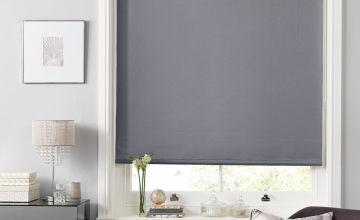 Argos Home Shimmer Blackout Roller Blind