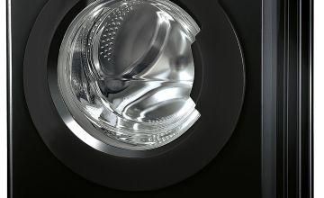 Indesit XWDE861480XK 8KG / 6KG Washer Dryer - Black