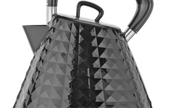 Cookworks Textured Kettle - Black