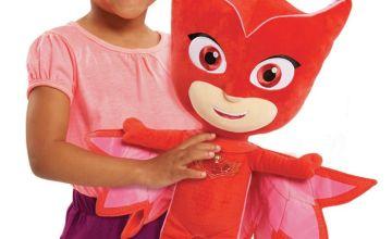 PJ Masks Jumbo Soft Toy - Owlette