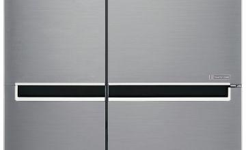 LG GSB760PZXV American Fridge Freezer - Stainless Steel
