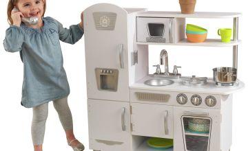 KidKraft Vintage Wooden Play Kitchen - White