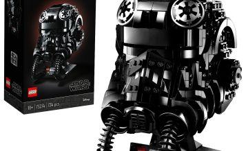 LEGO Star Wars TIE Fighter Pilot Helmet Display Set - 75274