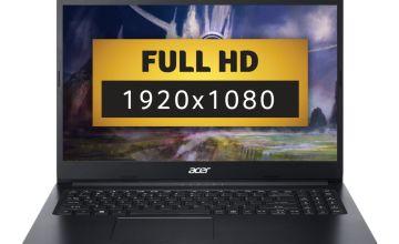 Acer Aspire 3 15.6in Celeron 4GB 128GB FHD Laptop - Black