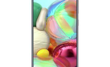 SIM Free Samsung A71 128GB Mobile Phone - Black