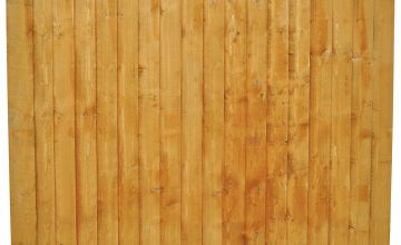 Forest 6ft (1.85m) Featheredge Fence Panel - Pack of 5