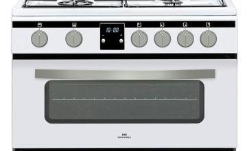 New World NWLS60DGW Cooker Wht