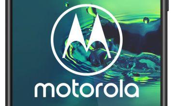 SIM Free Moto G8 Plus 64GB Mobile Phone - Blue