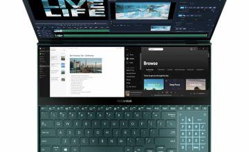 ASUS ZenBook Pro Duo 15.6in i9 32GB 1TB UHD Laptop