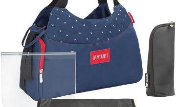 Badabulle Multipocket Changing Bag - Dark Blue