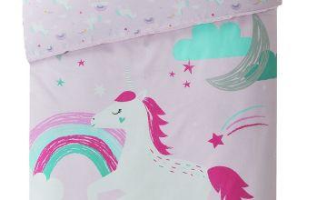 Argos Home Sparkle Unicorn Bedding Set