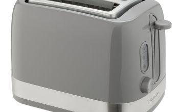 Cookworks Illuminated 2 Slice Toaster - Grey