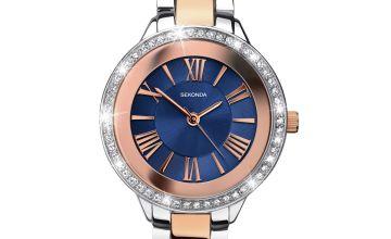 Sekonda Editions Ladies Blue Bracelet Watch