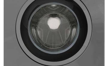 New World NWDHT914DG 9KG 1400 Spin Washing Machine - Grey