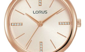 Lorus Ladies Beige Leather Strap Watch