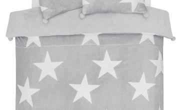 Argos Home Stars Fleece Bedding Set
