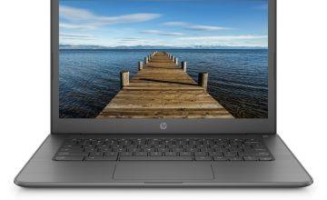 HP 14in AMD A4 4GB 32GB Chromebook - Grey