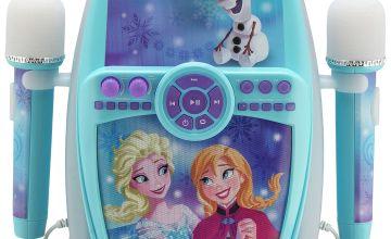 Disney Frozen Karaoke with Dual Microphones.