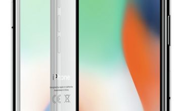 SIM Free iPhone X 64GB Mobile Phone - Silver