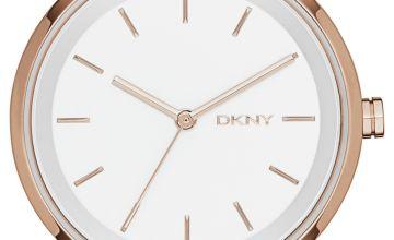 DKNY Ladies Soho NY2344 Rose Gold Coloured Bracelet Watch