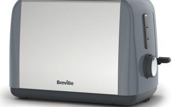 Breville ITT989 Stainless Steel 2 Slice Toaster - Grey