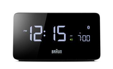 Braun Bluetooth Alarm Clock