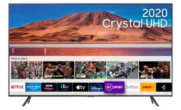 Samsung 55 Inch UE55TU7100 Smart Ultra HD TV - Carbon Silver