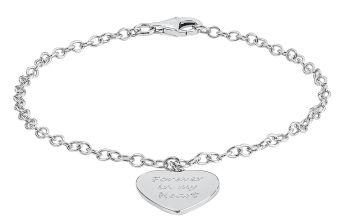 Moon & Back 'Forever in My Heart' Charm Bracelet