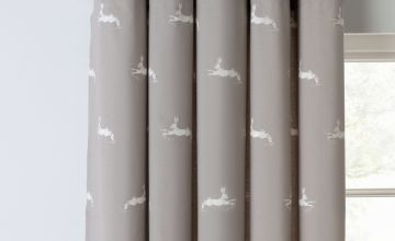 Argos Home Hare Fully Lined Eyelet Curtains