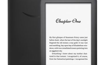Kindle Wi-Fi 4GB E-Reader - With Special Offers - Black