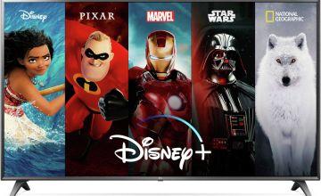 LG 49 Inch 49UM7050 Smart 4K Ultra HD LED TV with HDR
