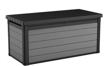 Keter Premier 570L Storage Box - Grey