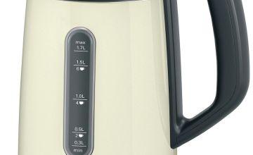 Bosch TWK4P437GB DesignLine Kettle - Cream