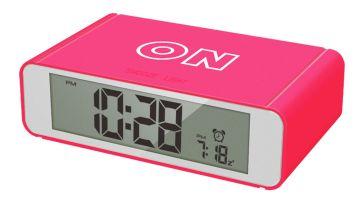 Precisions Flip Alarm Clock - Pink