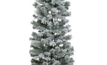 Argos Home Slim 6ft Pop Up Snowy Artificial Christmas Tree