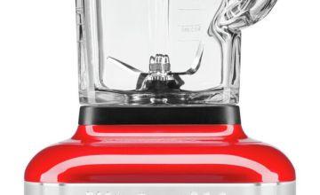KitchenAid Artisan K400 Glass Jar Blender - Empire Red