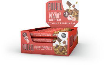 Fulfil Peanut Butter Snack Bars x15