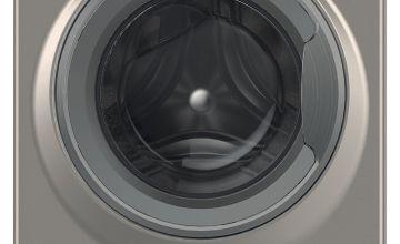 Hotpoint NSWM843CGG 8KG Washing Machine - Graphite