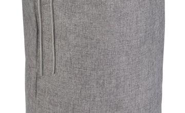 Argos Home Drawstring Laundry Bag - Grey