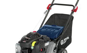 Spear & Jackson 41cm Hand Push Petrol Lawnmower - 125cc