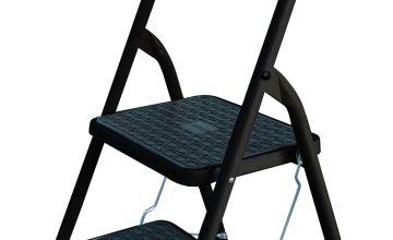 Abru 2 Step Stepstool with High Handrail 2.22m *SWH