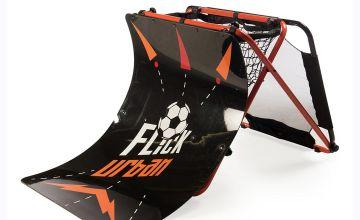 Football Flick Urban Skills Training Rebounder and Net