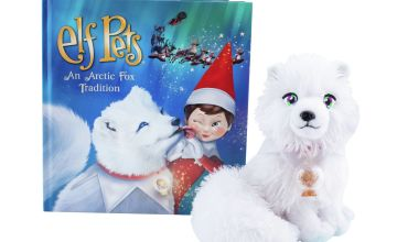 The Elf on the Shelf Elf Pets - An Artic Fox Tradition