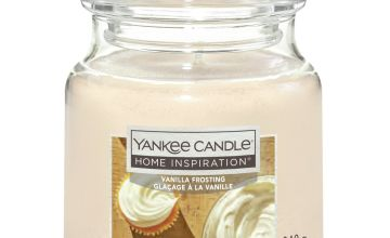 Home Inspiration Medium Jar Candle - Vanilla Frosting