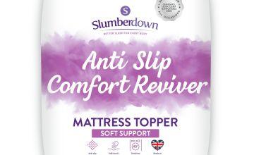 Slumberdown Anti Slip Comfort Mattress Topper