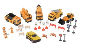 Chad Valley Die-Cast Construction Playset