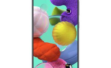 SIM Free Samsung A51 128GB Mobile Phone - Black