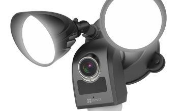 EZVIZ LC1 Outdoor Floodlight Camera - Black