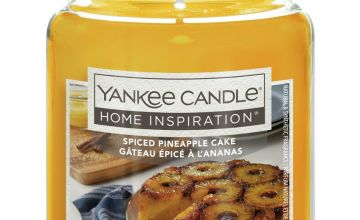 Yankee Candle Large Jar Candle - Spiced Pineapple Cake